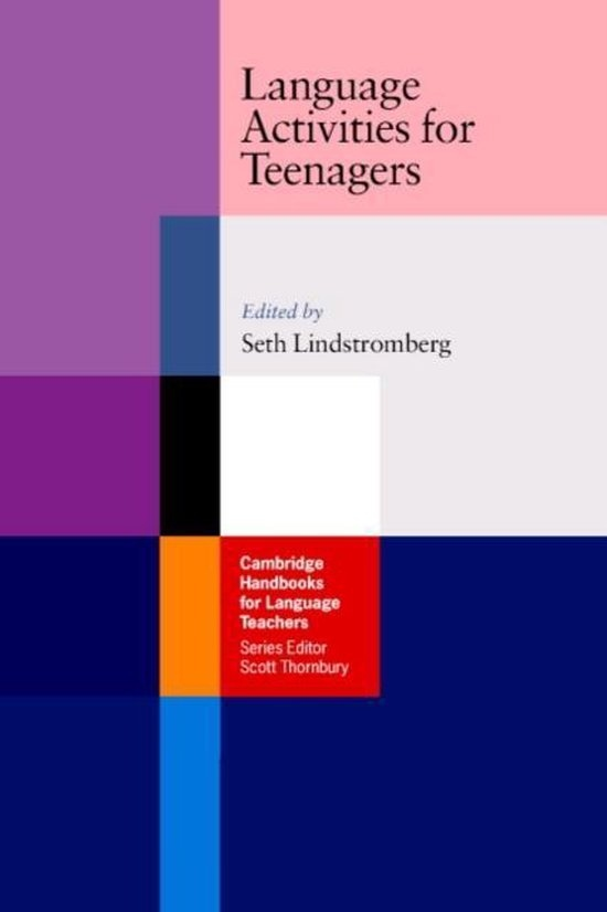 Language Activities for Teenagers PB : 9780521541930
