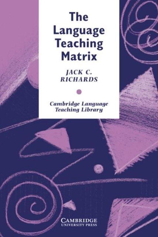 The Language Teaching Matrix