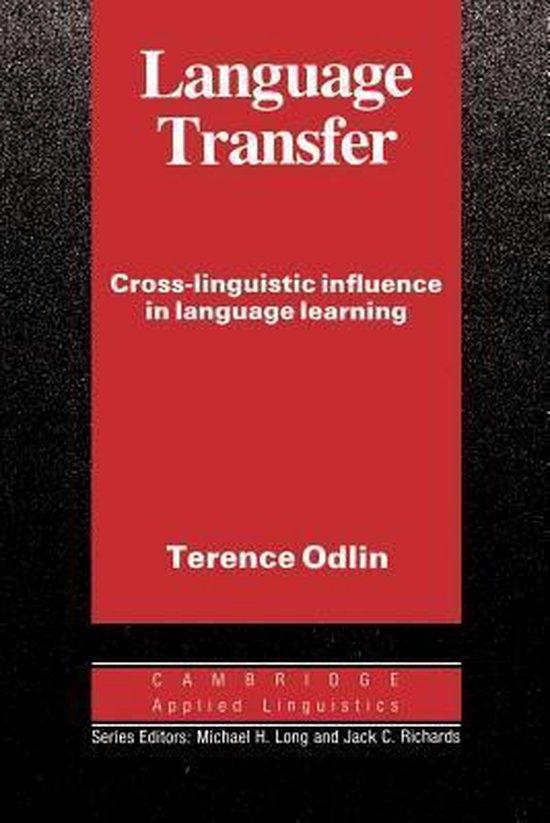 Language Transfer PB : 9780521378093