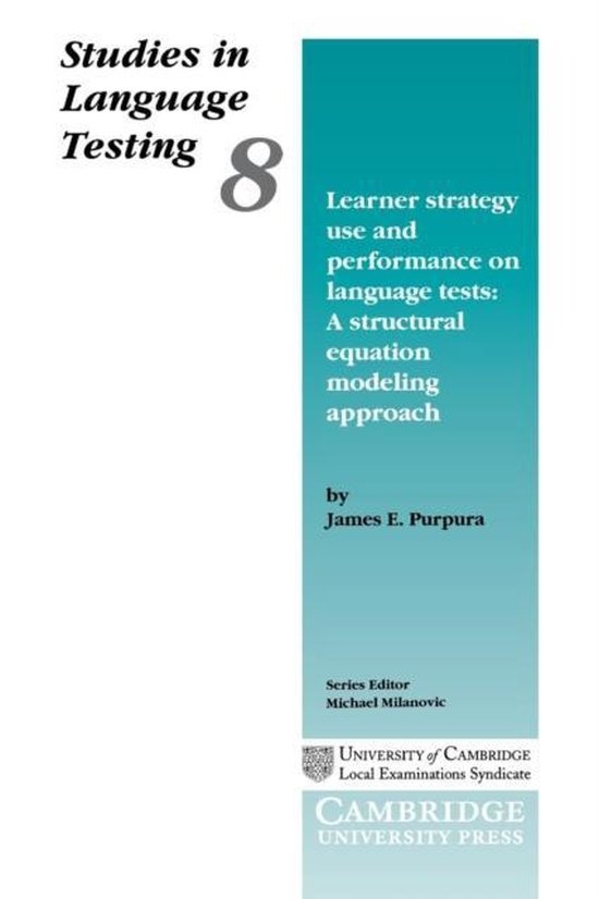 Learner Strategy Use and Performance on Language Tests PB : 9780521658751