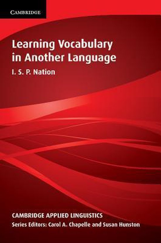 Learning Vocabulary in Another Language PB : 9780521804981