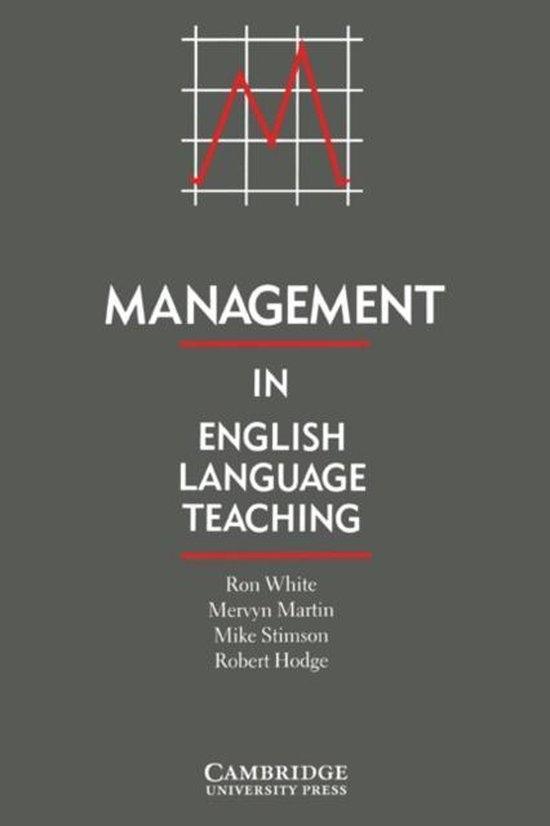 Management in English Language Teaching : 9780521377638