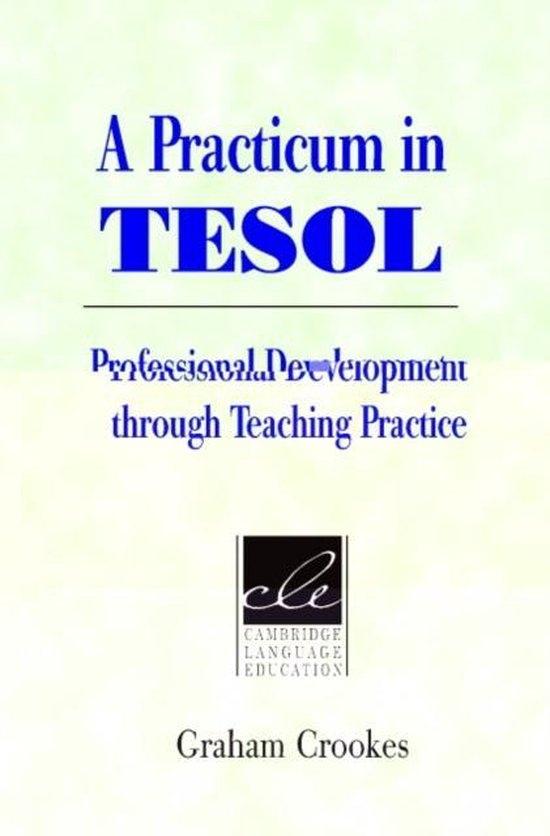 A Practicum in Tesol. PB