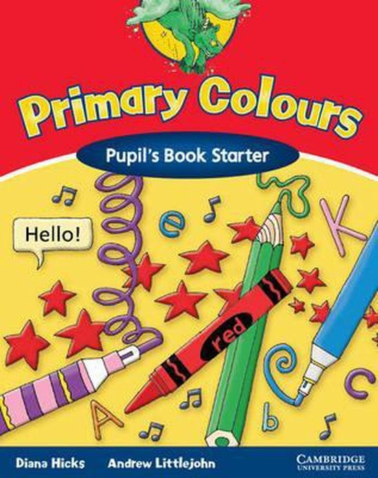 Primary Colours Starter Pupil´s Book : 9780521667357