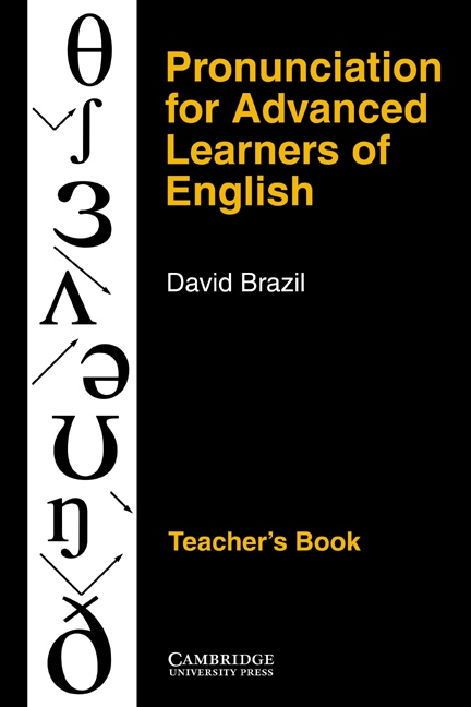 Pronunciation for Advanced Learners of English Teacher´s Book