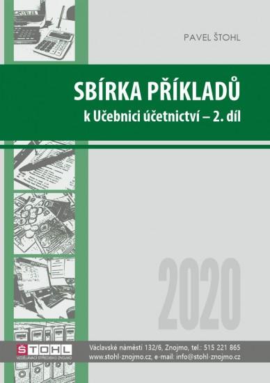 Sbírka příkladů k učebnici Účetnictví 2020 - 2. díl : 9788088221425