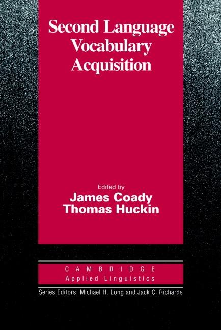 Second Language Vocabulary Acquisition PB : 9780521567640