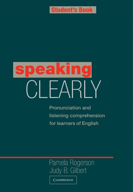 Speaking Clearly Student´s Book : 9780521312875