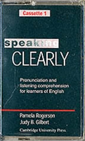 Speaking Clearly Audio Cassettes (2)