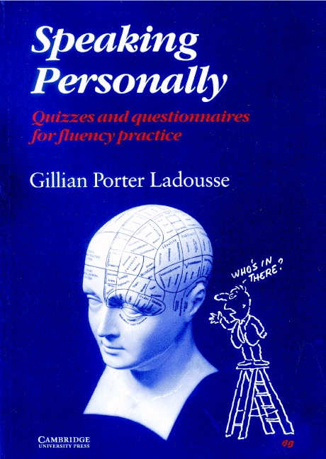 Speaking Personally Book