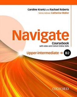 Navigate Upper Intermediate B2 Coursebook, DVD-ROM & Online Skills