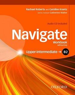 Navigate Upper Intermediate B2 Workbook without Key with Audio CD