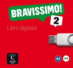 BRAVISSIMO! 2 (A2) – LIBRO DIGITALE USB