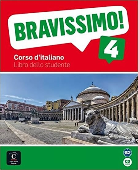 BRAVISSIMO! 4 (B2) – LIBRO DELLO STUDENTE + CD