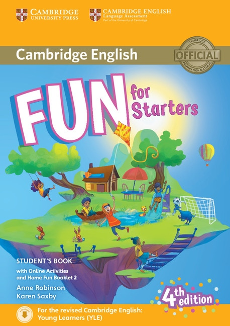 Fun for Starters Student´s Book with Home Booklet and online activities