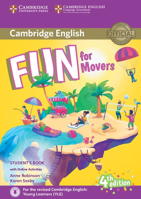 Fun for Movers 4th Edition Student´s Book with audio with online activities