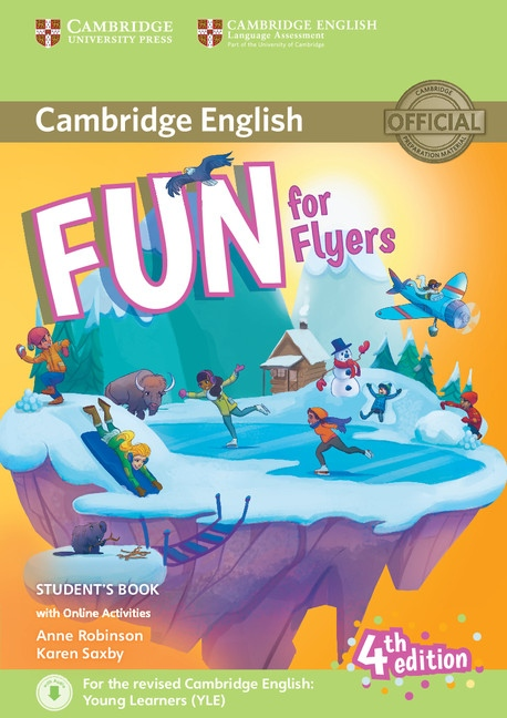 Fun for Flyers 4th Edition Student´s Book with audio with online activities