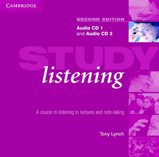 Study Listening Second Edition Audio CDs (2) : 9780521548588