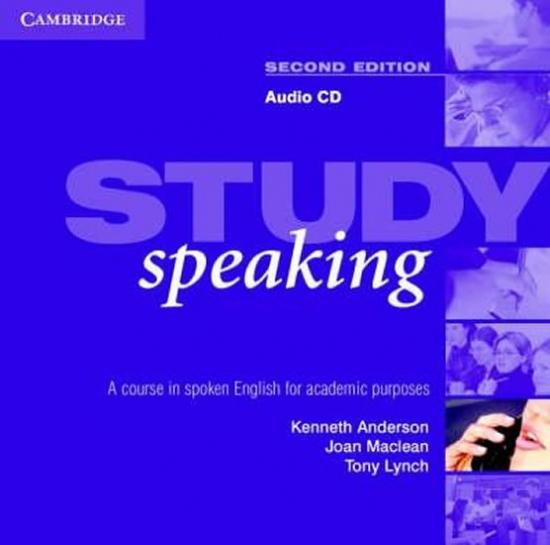 Study Speaking Second Edition Audio CD : 9780521537193