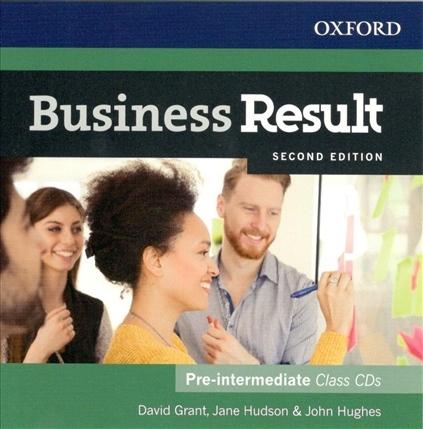 Business Result (2nd Edition) Pre-Intermediate Class Audio CDs (2) : 9780194738842