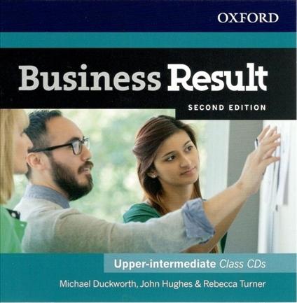 Business Result (2nd Edition) Upper-Intermediate Class Audio CDs (2)