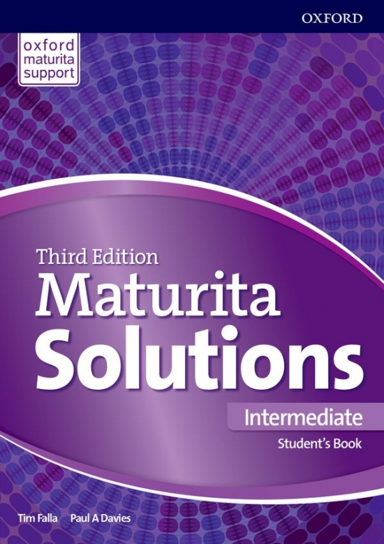 Maturita Solutions 3rd Edition Intermediate Student´s Book Czech Edition : 9780194504515