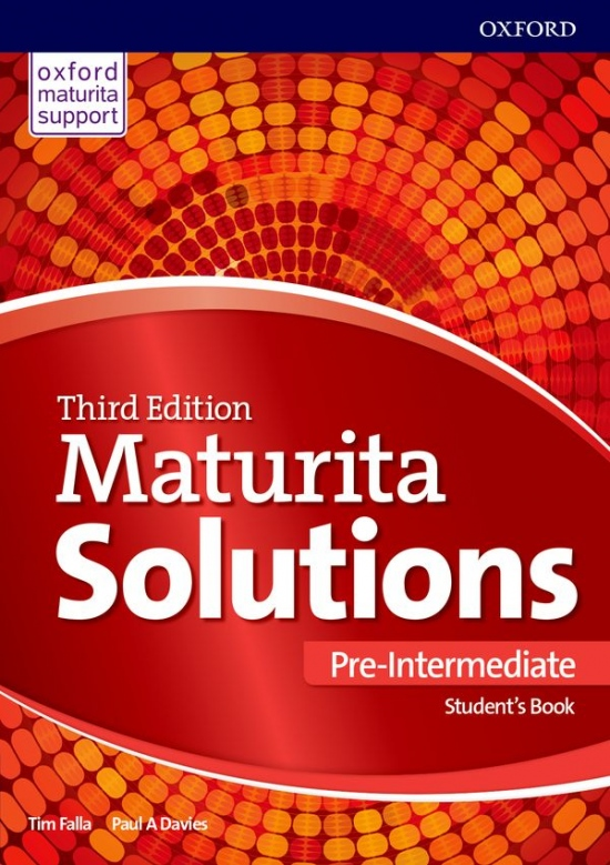 Maturita Solutions 3rd Edition Pre-Intermediate Student´s Book Czech Edition