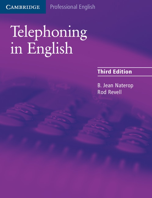 Telephoning in English Student´s Book : 9780521539111