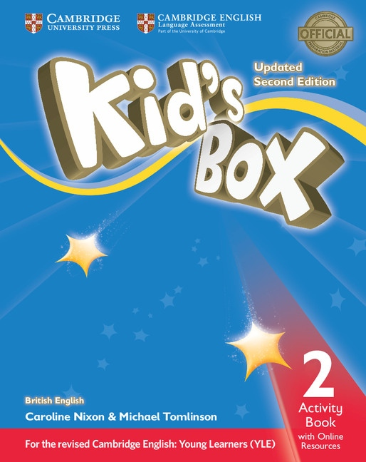 Kid´s Box updated second edition 2 Activity Book with Online Resources