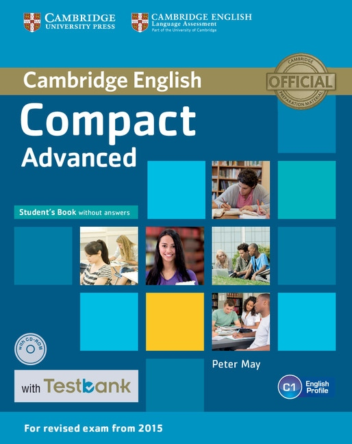 Compact Advanced Student´s Book without answers + CD-ROM + Testbank