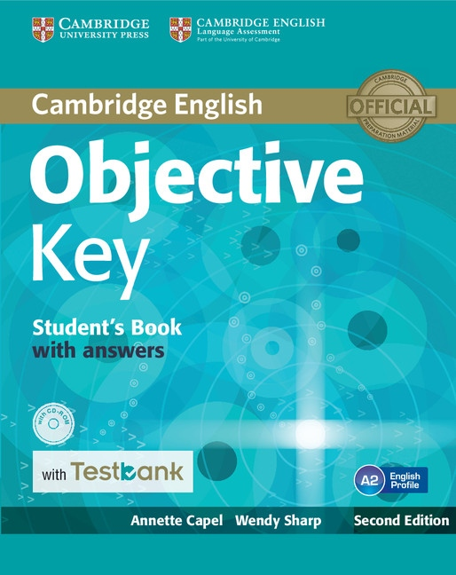 Objective Key Student´s Book with Answers + CD-ROM + Testbank