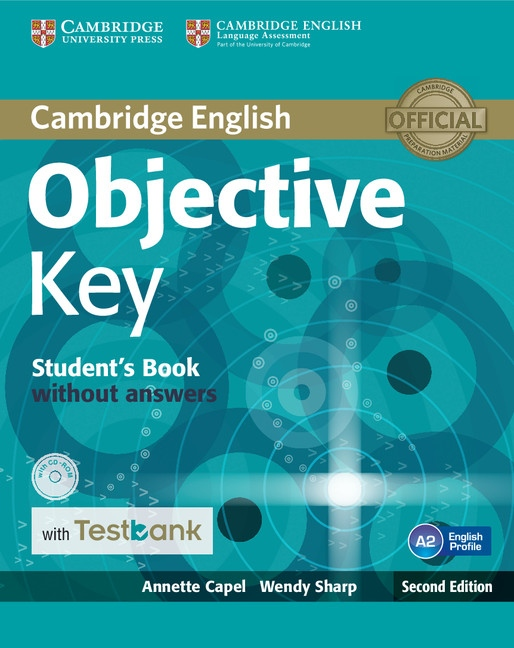 Objective Key Student´s Book without Answers + CD-ROM + Tesbank