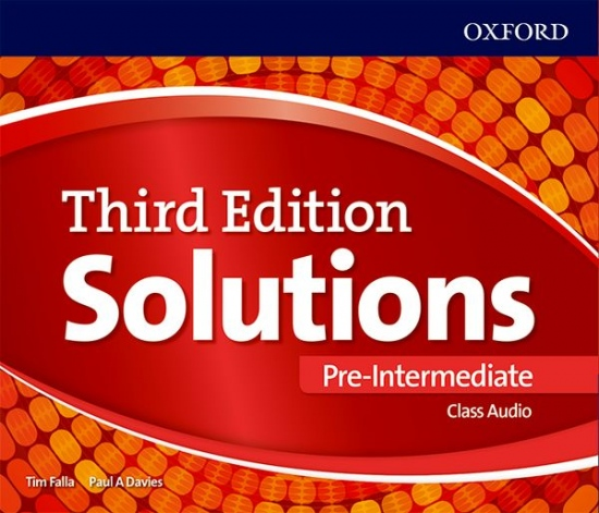 Maturita Solutions 3rd Edition Pre-intermediate Class Audio CDs