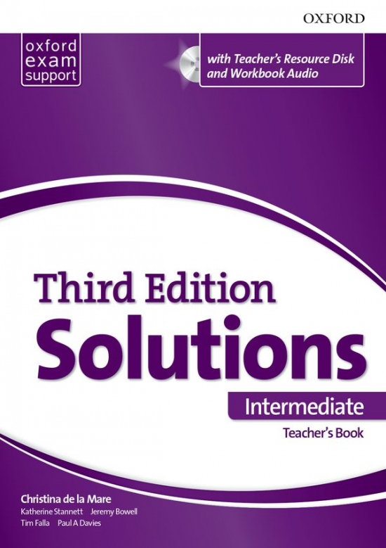 Maturita Solutions 3rd Edition Intermediate Teacher´s Pack