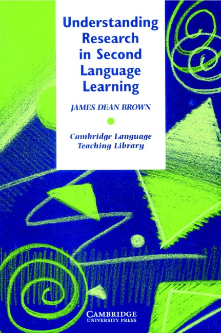 Understanding Research in Second Language Learning PB : 9780521315517