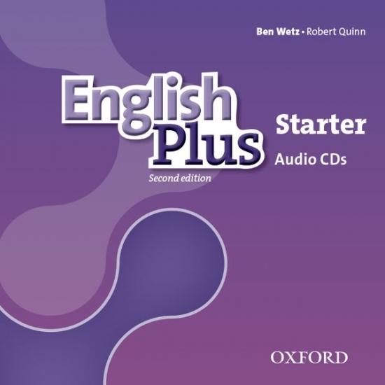 English Plus (2nd Edition) Starter Class Audio CDs (3)