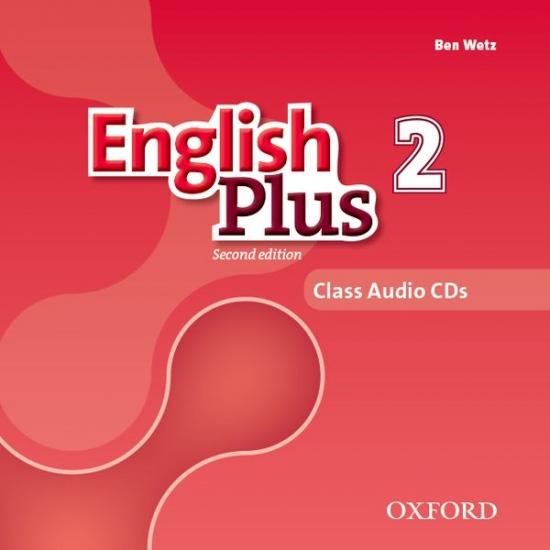 English Plus (2nd Edition) Level 2 Class Audio CDs (3)
