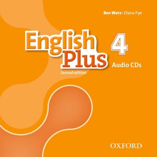 English Plus (2nd Edition) Level 4 Class Audio CDs (3)