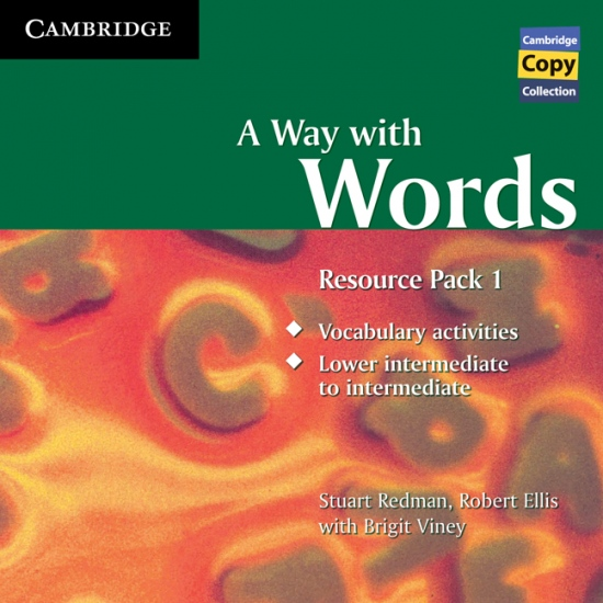 Way with Words Resource Pack A Lower Intermediate to Intermediate Audio CD