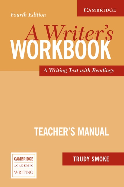 Writer´s Workbook Fourth Edition A Teacher´s Manual