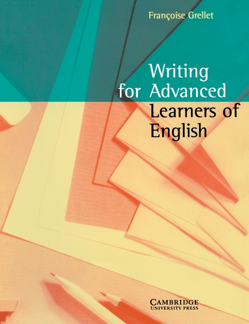 Writing for Advanced Learners of English Student´s Book : 9780521479714