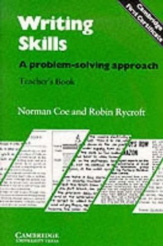 Writing Skills Teacher´s Book : 9780521281430