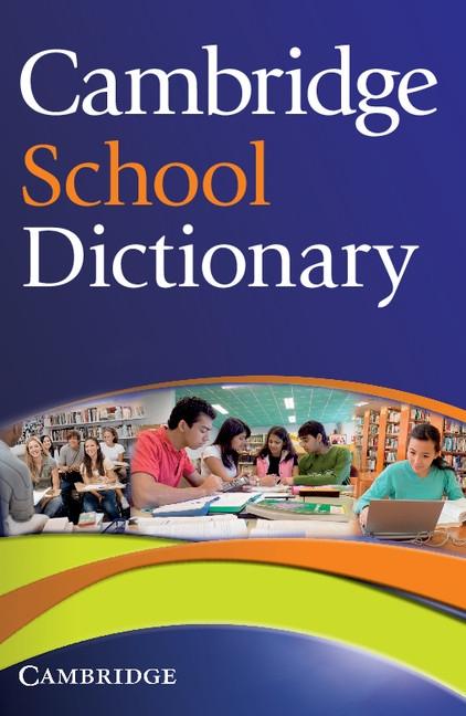 Cambridge School Dictionary : 9780521712644