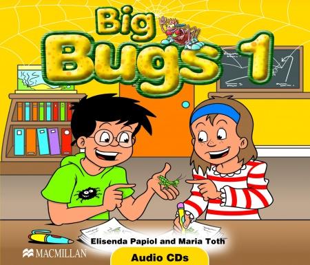 Big Bugs 1 A-CD : 9781405061742