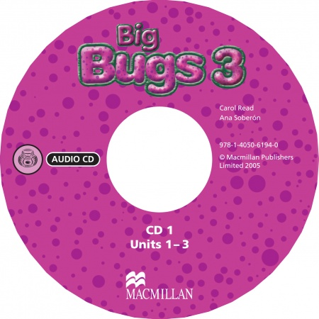 Big Bugs 3 A-CD : 9781405061940