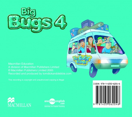 Big Bugs 4 A-CD : 9781405062046