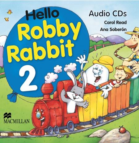 Hello Robby Rabbit 2 Class CD : 9780333988688