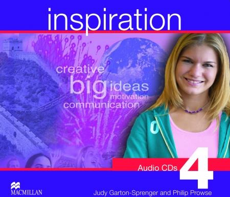 Inspiration 4 Class Audio CD