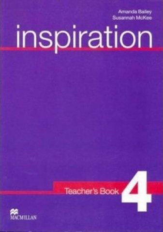 Inspiration 4 Teacher´s Book