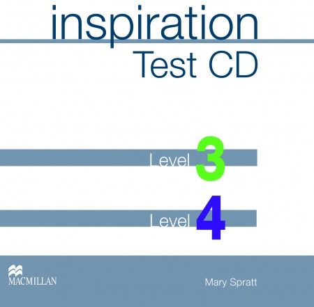 Inspiration 3 & 4 Test CD : 9781405093897